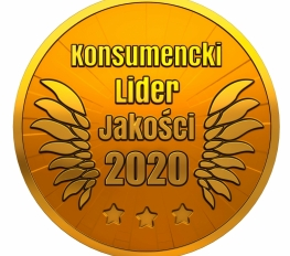 CONSUMER QUALITY LEADER 2020 GOLD emblem for the JONIEC® brand