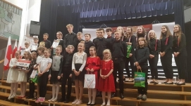 The Owner of the JONIEC® Company awarded young musicians from Tymbark. - Zdjęcie 4